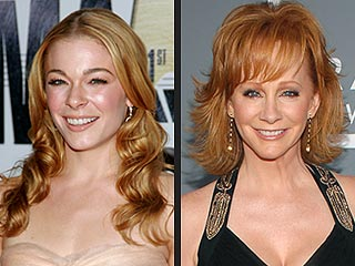 LeAnn Rimes Gets Vocal For Reba McEntire