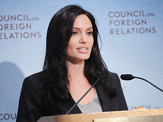 Angelina Jolie Speaks Passionately About Refugees & Children