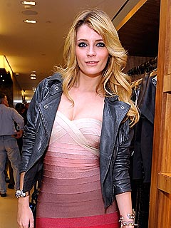 Mischa Barton Focuses on Getting in Shape