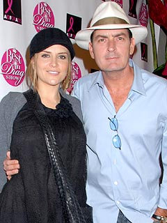 Charlie Sheen & Wife Ready for Saturday Baby Shower