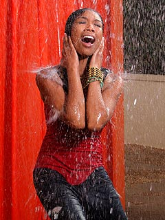 FIRST LOOK: Brandy Gets Drenched in New Video