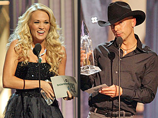 Kenny Chesney, Carrie Underwood Win Big at CMA Awards
