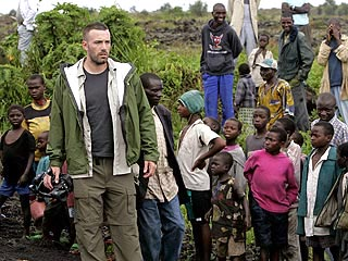 Ben Affleck Urges Hope in Eastern Congo