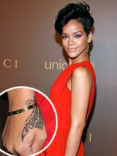 Rihanna's New Tattoo Explained!