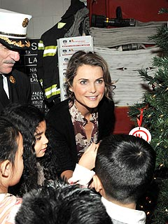 Keri Russell Prepares for Baby's First Real Christmas