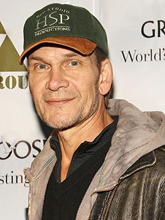 Patrick Swayze Checks Into Hospital with Pneumonia