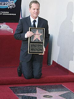 PHOTO: Kiefer Sutherland Gets a Hollywood Star