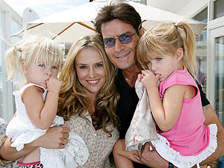 Charlie Sheen's Daughters Unharmed in Car Wreck