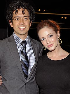 Christina Hendricks Awed by High-Tech Hubby