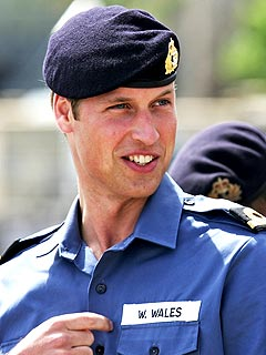 Prince William Owes New Navy Buddies a 'Crate of Beer'