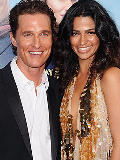 Matthew McConaughey, Camila Alves Welcome Daughter Vida