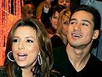 Eva Longoria Parker & Mario Lopez Grab Sushi in Sin City | Eva Longoria, Mario Lopez