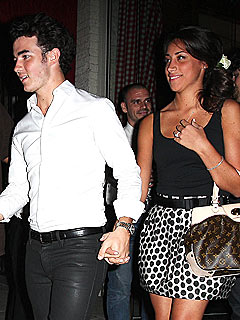 Kevin Jonas & Fiancée Celebrate Their Engagement Over Sushi