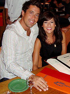 Jillian Harris and Ed Swiderski Enjoy Cozy Night in Vegas