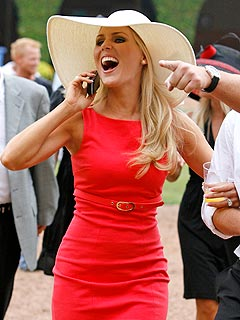 Real Housewives of O.C.: A Dustup at the Races