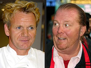 Gordon Ramsay Cooks Up More Zingers for Rival Chef