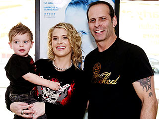 Kristy Swanson & Lloyd Eisler Celebrate Son's Birthday