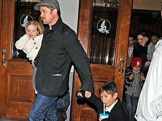 The Jolie-Pitts Take in a Broadway Show