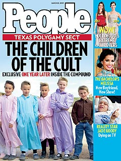 Cover: The Children of the Texas Polygamy Cult