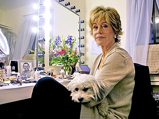 Jane Fonda's Dog Bow-Wows on Broadway