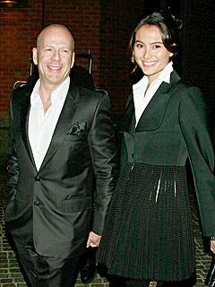 Bruce Willis Makes His Marriage Legal