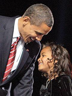Obama Recalls Sasha's Fight For Life