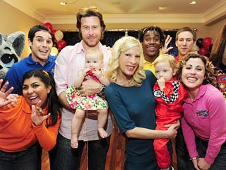 Tori Spelling Celebrates Son's 2nd Birthday