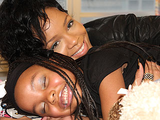 Rihanna Pays Special Visit to Sick Fan