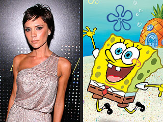 Victoria Beckham to Square Off with SpongeBob