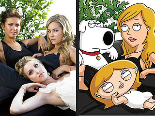 FIRST LOOK: Lauren Conrad Gets Animated for Family Guy