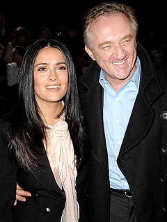 Salma Hayek&#39;s Wedding Reception an All-Star Song Fest