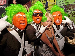Meet the Oompa-Loompas (They're Already Pals with Paris & Katy!)
