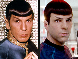 Spock on Spock: Leonard Nimoy and Zachary Quinto Sound Off