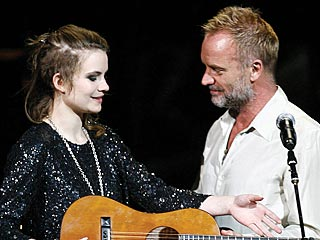 Sting&#39;s Daughter Recovering after Injury