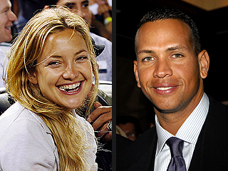 Alex Rodriguez and Kate Hudson Get Cozy