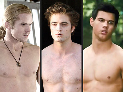 Which Twilight Hunk Has the Best Chest?