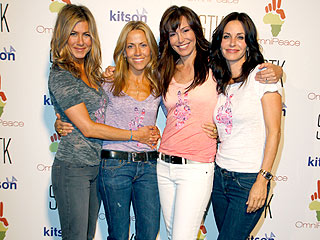 Jennifer Aniston, Courteney Cox Arquette and Sheryl Crow Come Together for the Congo