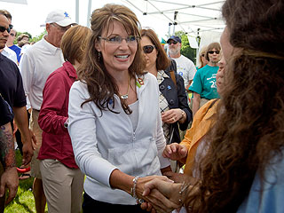 Sarah Palin Says Son Trig Is a 'Typical Rowdy 1-Year-Old'