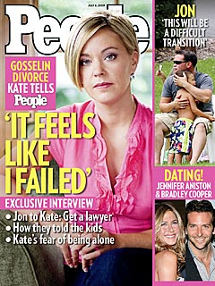 Kate Gosselin: 'It Feels Like I Failed'