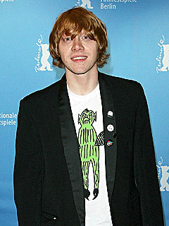 Rupert Grint Calls Swine Flu 'Quite Scary'