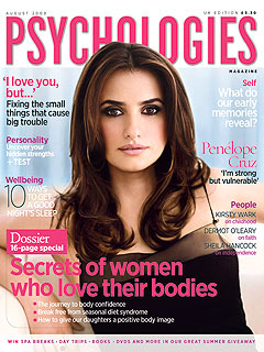 Penélope Cruz: Kids, Si; Husband, No