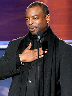 Reading Rainbow's LeVar Burton in Auto Accident