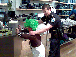 Oompa Loompah Causes Mall Chaos