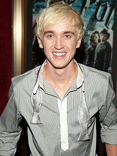 How Harry Potter Bad Boy Tom Felton Stays Blond