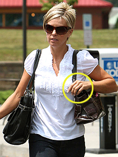 Kate Gosselin Takes Off Her Wedding Band - Jon Gosselin, Kate Gosselin