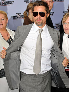 Brad Pitt to Play Superhero for His Kids' Sake