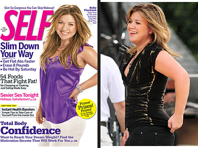 Kelly Clarkson Photo Retouched to Make Her 'Look Her Best'