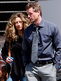 Eric Dane and Rebecca Gayheart Take a Weekend Away