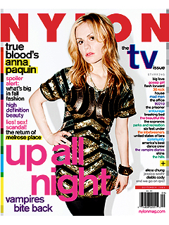 Anna Paquin Unfazed by Onscreen Nudity