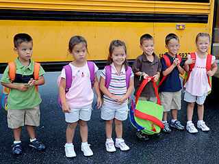 PHOTO: Gosselin Sextuplets Start School